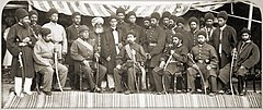 Yaqub Khan with his officers.jpg