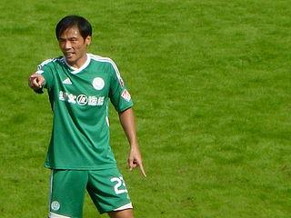 Ye Jia Chinese-born Hong Kong footballer