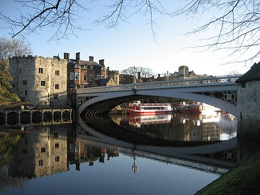 York River Ouse and Lendal Tower