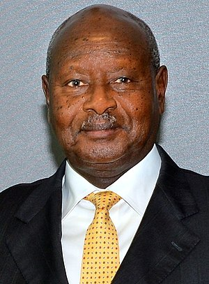 Yoweri Museveni - Image: Yoweri Museveni September 2015