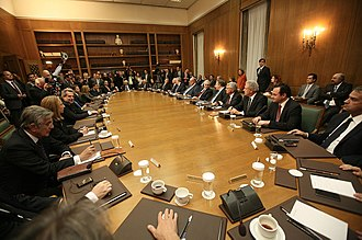 Cabinet of Greece - Cabinet of 2012