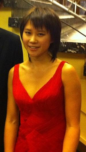 Chinese pianist Yuja Wang, at Liederhalle, Stu...