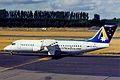 ZK-NZN B.Ae 146-300 Ansett NZ CHC 09JAN99 (6050718911).jpg