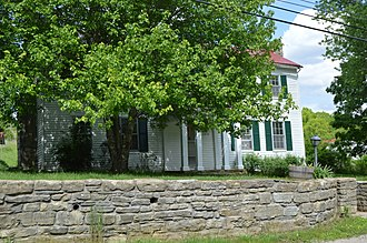National Register of Historic Places listings in Bullitt County, Kentucky - Image: Zack Stansbury House