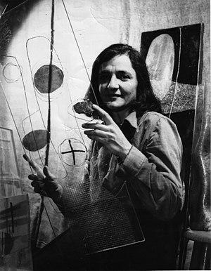 zahara schatz portrait holding her plexiglass ...