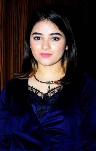 Filmfare Critics Award for Best Actress - The 2018 recipient: Zaira Wasim