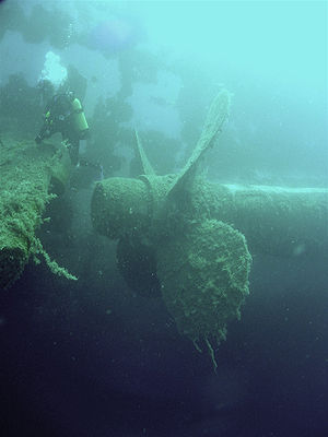 Wreck of the Zenobia in Larnaca Cyprus