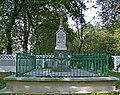 Zespół kościoła p.w. Wniebowzięcia NMP - cmentarz przykościelny (fot.5) - Bystrzyca, gmina Wólka, powiat lubelski, woj. lubelskie ArPiCh A-563.JPG