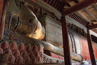 Reclining Buddha - The reclining Buddha of Zhangye