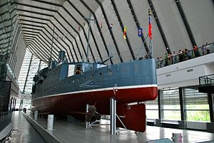 Wuhan - The gunboat Zhongshan