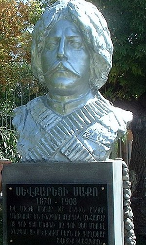 Sevkaretsi Sako - The bust of Sevkaretsi Sako in Yerevan