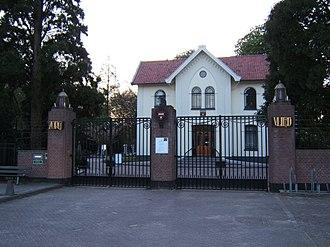 Zorgvlied (cemetery) - Zorgvlied entrance