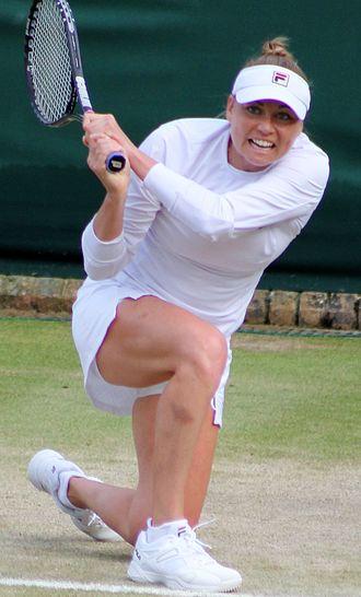 Vera Zvonareva - Zvonareva at the 2014 Wimbledon Championships