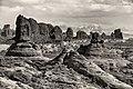 """Garden of Eden"" and La Salt Mountains, Arches National Park, Utah (30621456501).jpg"