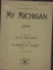 """""""MY MICHIGAN"""" Sheet Music Cover page.png"""