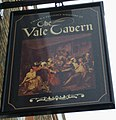 """""""The Vale Tavern"""" PH sign in Ramsgate - geograph.org.uk - 2551828.jpg"""