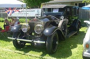 Rolls-Royce Phantom I - Springfield MA Phantom limousine 1927
