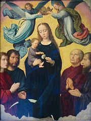 Coronation of the Virgin, Maria in Sole