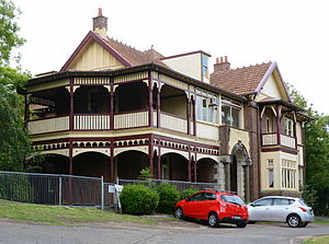 Turramurra - Hillview guesthouse, part of the heritage-listed Hillview estate which later became the Hillview Community Health Centre