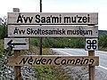 Äʹvv and Neiden Camping sign.jpg