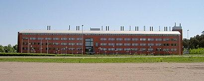 Vägbeskrivningar till Ångströmlaboratoriet med kollektivtrafik