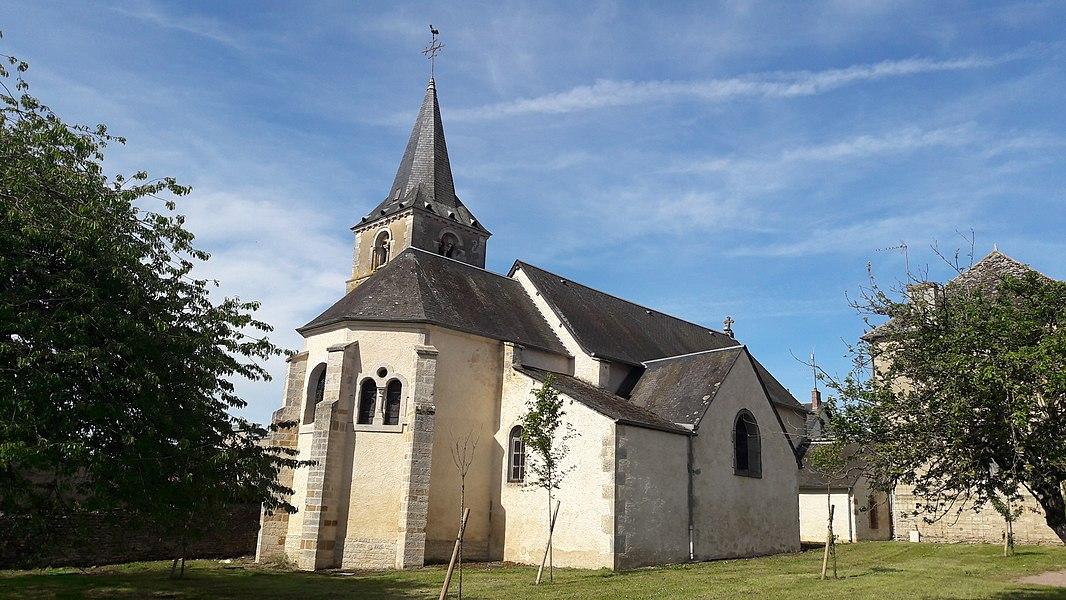 Église romane Saint-Bénigne de Sougy-sur-Loire