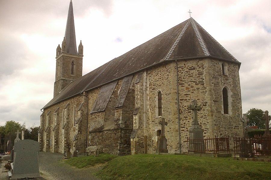 Église Saint-Ouen de fr:Baudre
