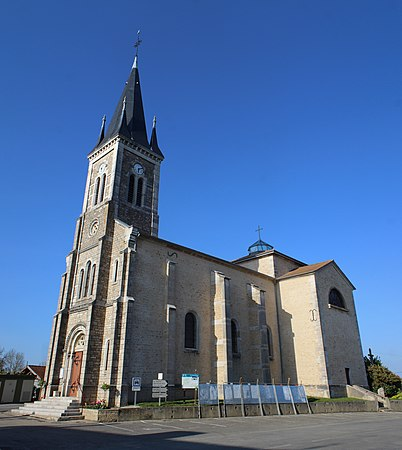 Église Saints-Pierre-et-Paul de Marsonnas