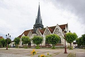 Saint-André-les-Vergers - Image: Église de Saint André Les Vergers