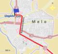 Últimos kilómetros de la segunda etapa de la Doble Melo 2014.png