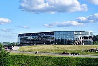 Žalgiris Arena - Image: Žalgirio Arena, Kaunas, Lithuania