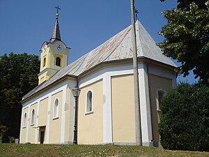 Gradina, Virovitica-Podravina County - Parish church of St. Elijah in Gradina