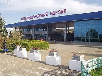 Anapa - Train station in Anapa