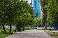 Велодоріжка в парку ім.Чекмана 2.jpg