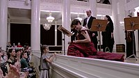 Вернер Эрхард и Роберта Мамели на концерте в Большом зале филармонии Санкт-Петербурга. 8.11.2014..JPG