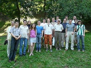 Серед український вікіпедистів також переважають чоловіки (вікізустріч 2009 рік, cc-by-sa, автор Pavlo Shevelo)