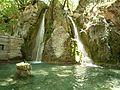 Водопад и езерото с рибите - panoramio.jpg