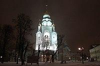 Воскресенская светящаяся колокольня (3).JPG