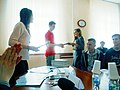 Вручення дипломів ВікіСтудії 31 травня 2016 DSCN7380 02.jpg