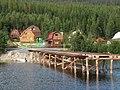 Дачный посёлок на берегу Колвицкого залива. - panoramio.jpg