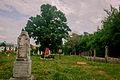 Елабуга, ансамбль Троицкого кладбища, могила Дуровой Н.А. (1783-1866), общий вид захоронений.jpg