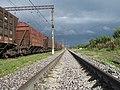 """Ж-д станция """"Кресты"""" (вид в сторону Детково) - panoramio.jpg"""