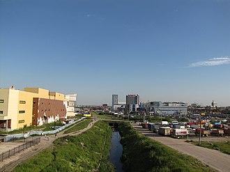 Frunzensky District, Saint Petersburg - Over Volkovka, Frunzensky District