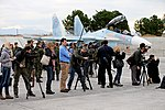 Работа российских и иностранных СМИ на авиабазе «Хмеймим» в Сирии (26).jpg