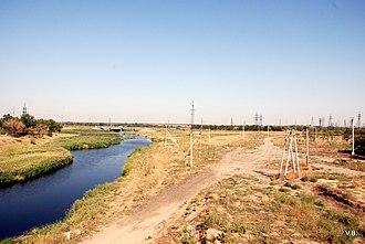 Kotelnikovsky District - River in Kotelnikovsky District