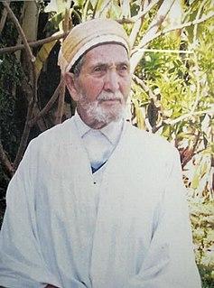 Brahim Boushaki Algerian Sufi theologian