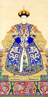 Empress Xiaojingxian Empress of the Qing Dynasty