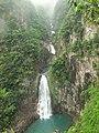 七折瀑 - Seven-bend Cascade - 2010.04 - panoramio.jpg