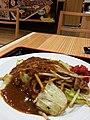 会津カレー焼きそば、濃厚でおいしい。けど、量がちょっと上品。日本橋MIDETTEで。 (14201975163).jpg