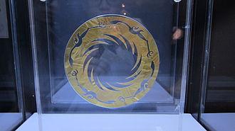 Jinsha site - The Golden Sun Bird excavated from Jinsha